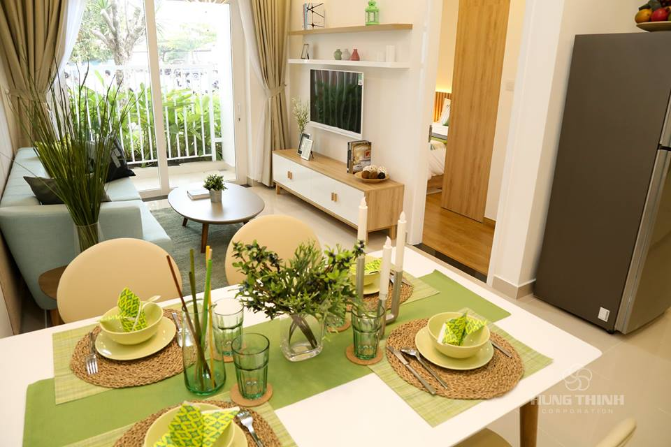 The Residence 3 Kim Tâm Hải thiết kế sang trọng không gian thoáng