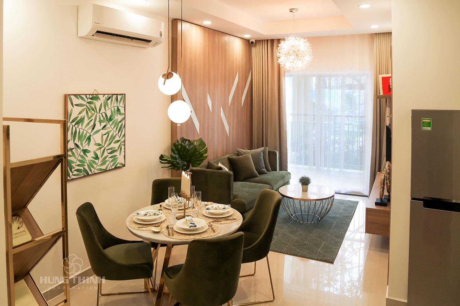 Căn hộ chung cư hạng sang Saigon Riverside City cho thuê không gian thoáng rộng nhiều ưu đãi