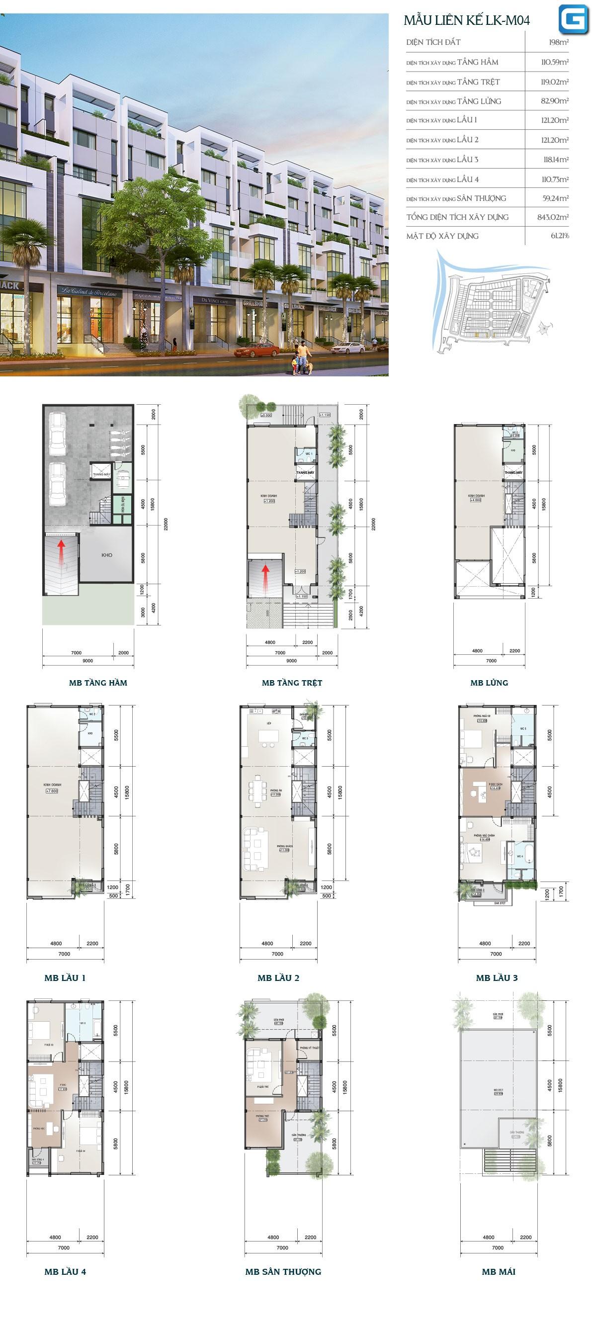 dự án nhà phố và biệt thự Saigon Mystery Villas