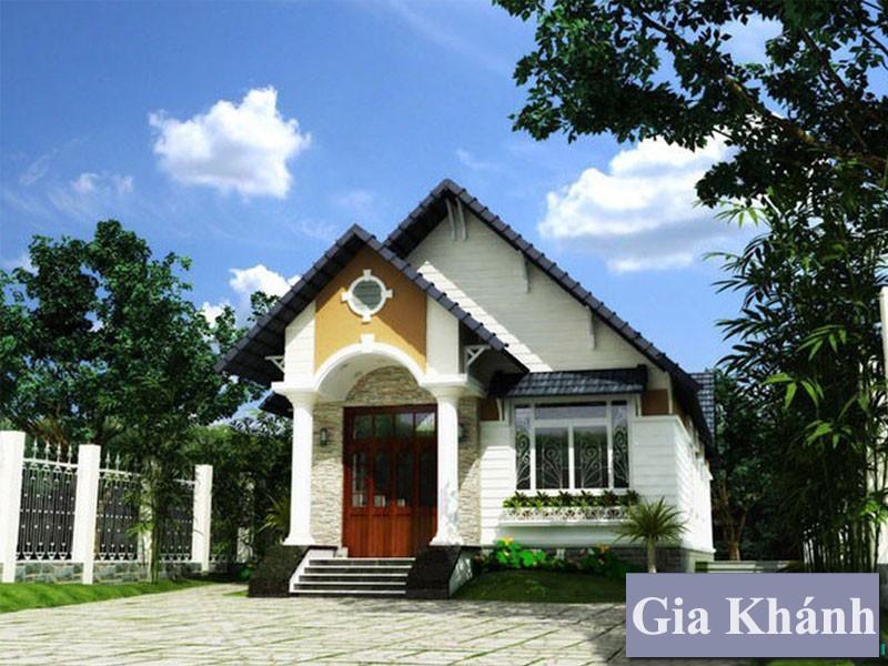 Nhà cấp 4 chuẩn nông thôn đang là xu hướng của gia đình Việt