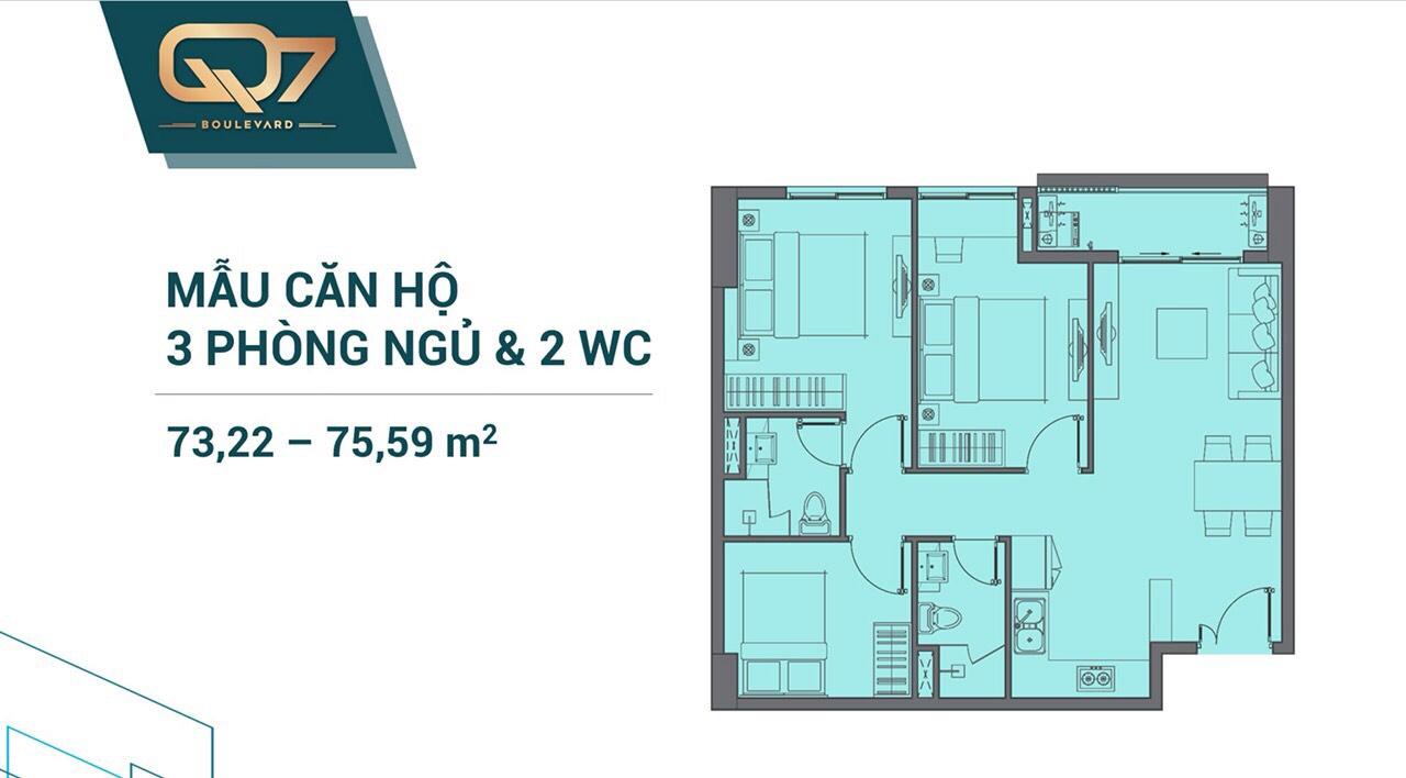 dự án căn hộ chung cư Q7 Boulevard hưng thịnh