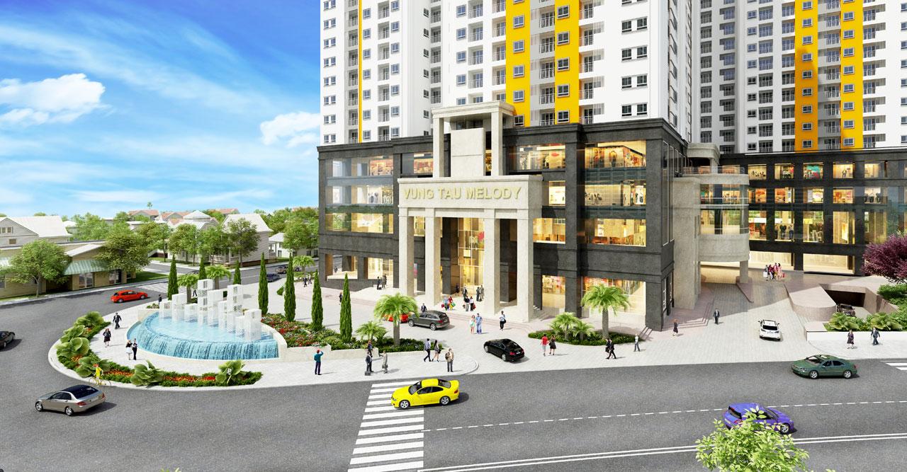 dự án căn hộ Vũng Tàu Melody