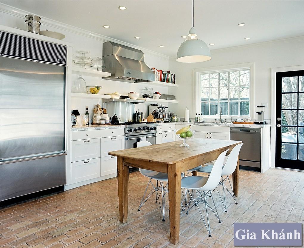 Bí kíp kết hợp gỗ tái chế vào phòng ăn tinh tế sắc sảo và sang trọng