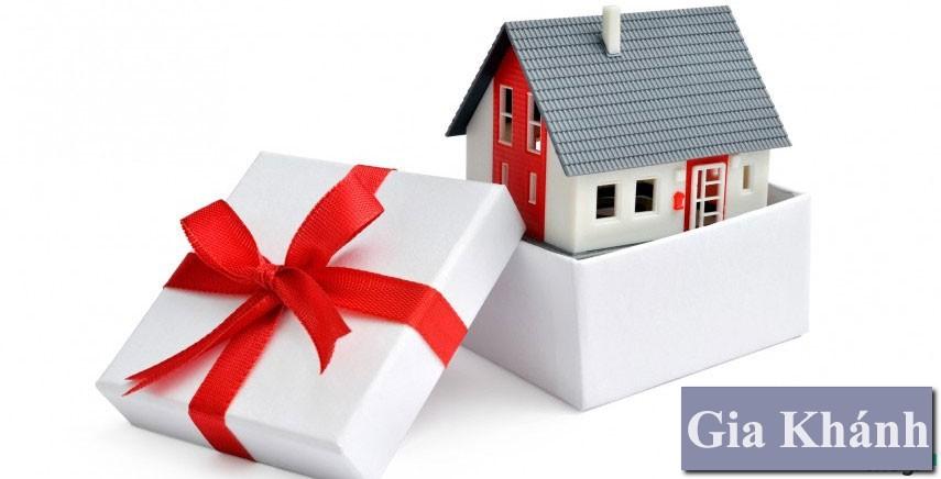 Các Thủ tục công chứng hợp đồng tặng, cho nhà đất