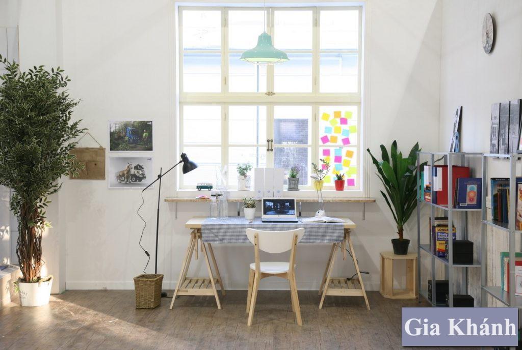 Cách sắp xếp bàn làm việc theo phong thủy để sự nghiệp thăng tiến