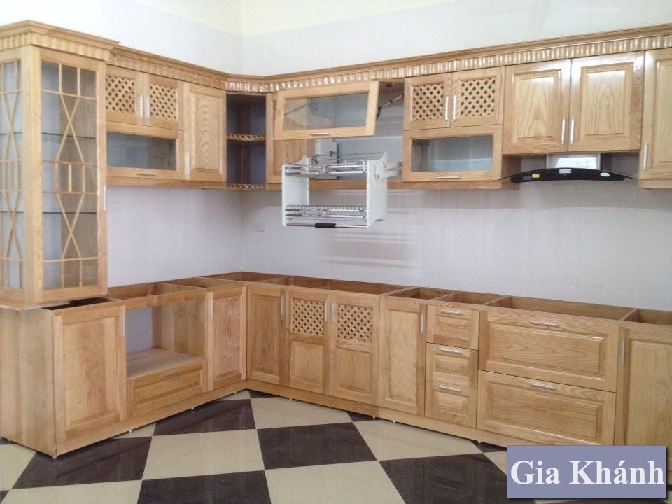 Cẩn thận với các loại tủ bếp gỗ sồi giá rẻ!