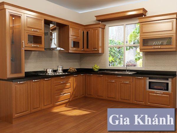 Cẩn thận với các loại tủ bếp gỗ sồi giá rẻ
